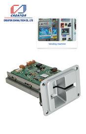 Lecteur de cartes manuel d'immersion d'insertion avec la fonction de verrou de carte, lecteur d'IC Smart Card