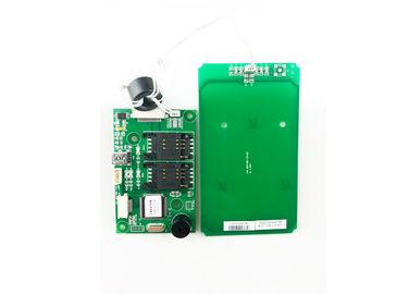 Lecteur de cartes sans contact de 13,56 mégahertz RFID avec l'interface d'USB, lecteur de cartes d'IC