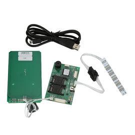 Auteur futé de lecteur de voiture de RFID USB pour DEUX cartes de SAM, lecteur de cartes sans contact de rf